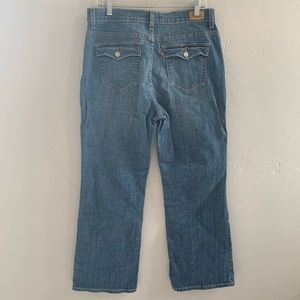 Levi's Perfectly Slimming Boot Cut 512 Jeans 14S